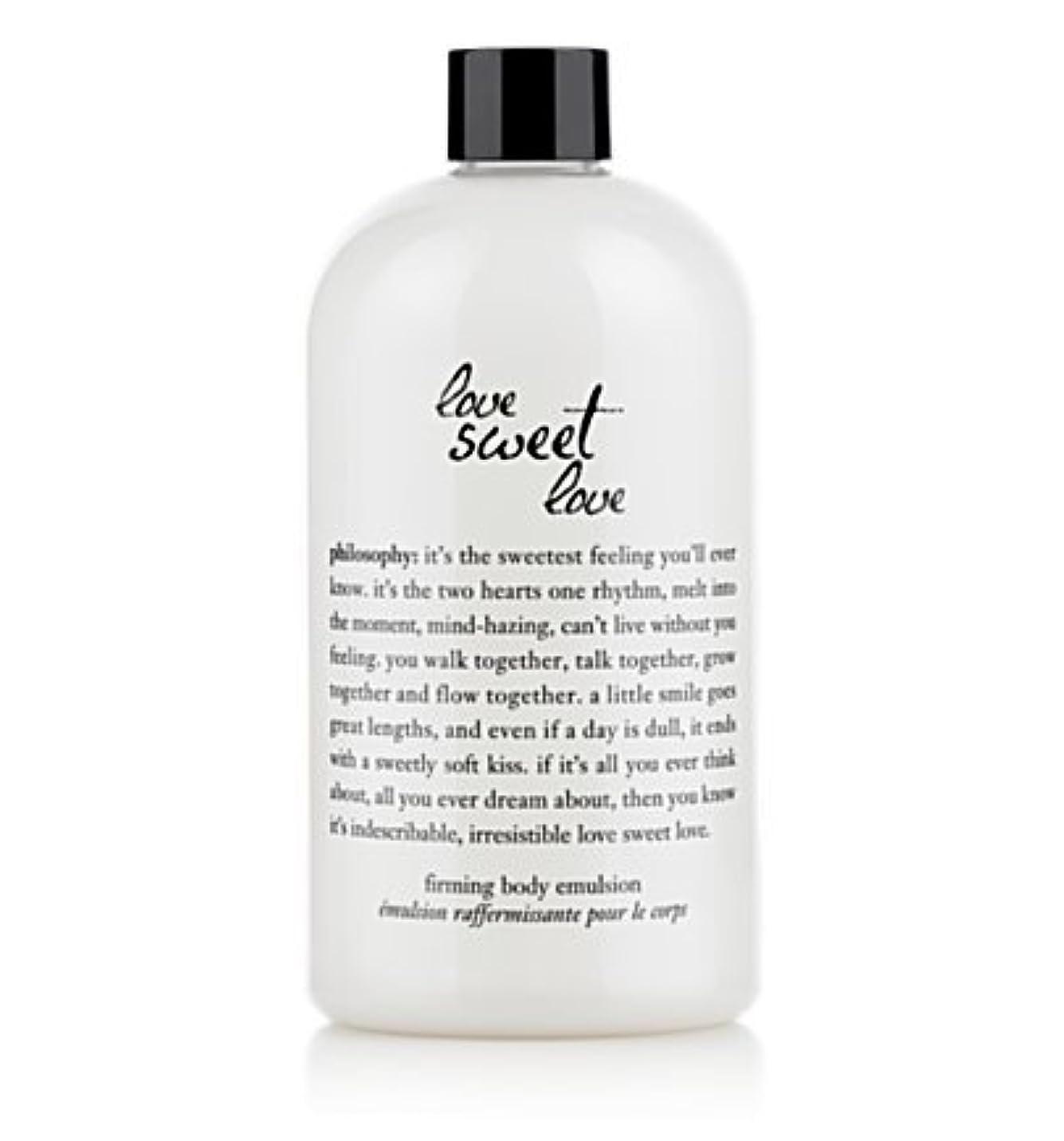 球状ぴったり嫌いlove sweet love (ラブスイートラブ ) 16.0 oz (480ml) firming body emulsion for Women