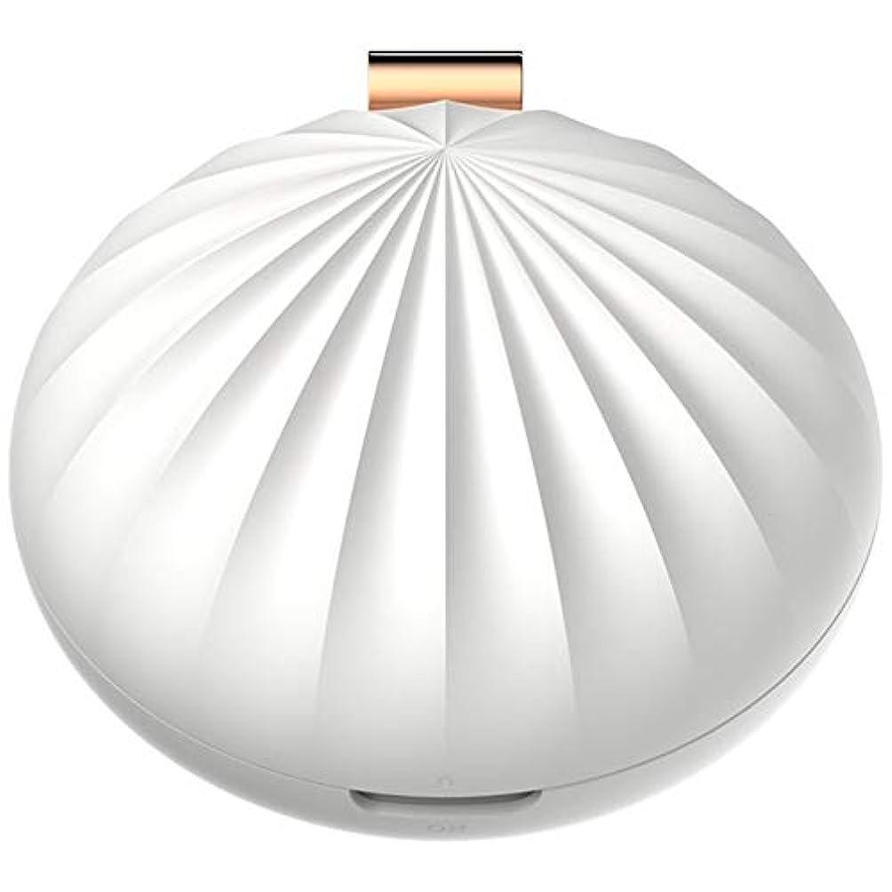 熱心な重さ崩壊Nenon&wenom アロマディフューザー おしゃれ ディフューザー アロマオイル 携帯 便利 コンパクト アロマ香り 癒し 卓上 部屋(ホワイト)