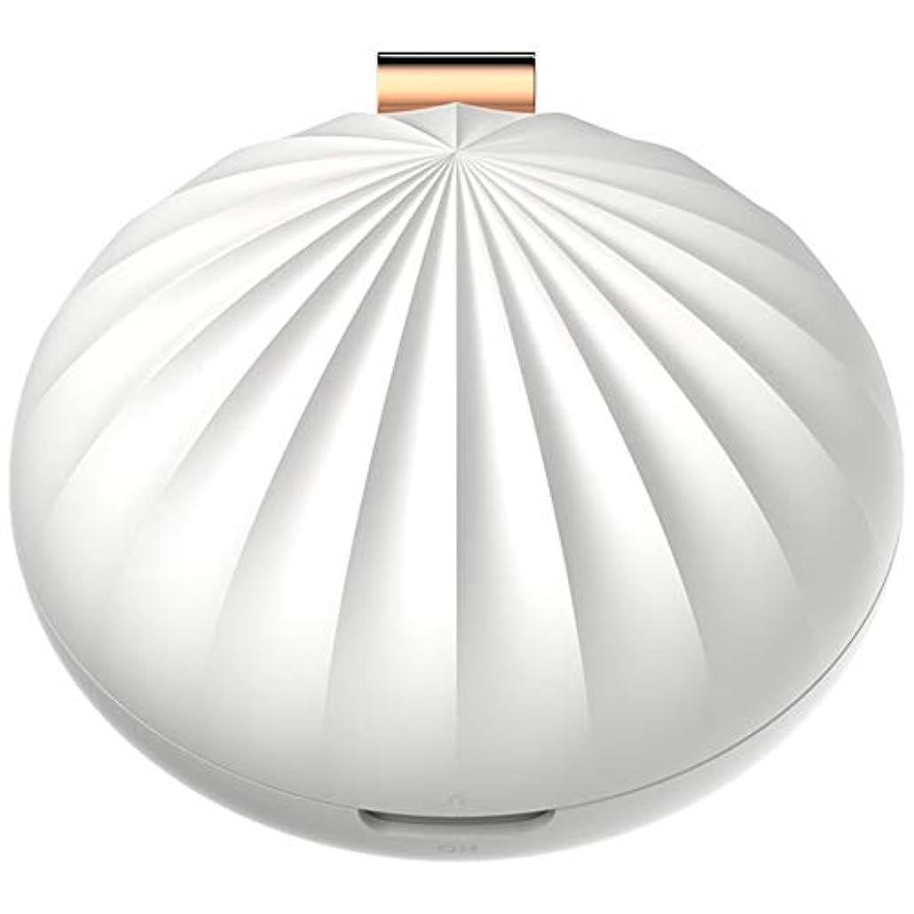 吸収するロッカー吸収するNenon&wenom アロマディフューザー おしゃれ ディフューザー アロマオイル 携帯 便利 コンパクト アロマ香り 癒し 卓上 部屋(ホワイト)