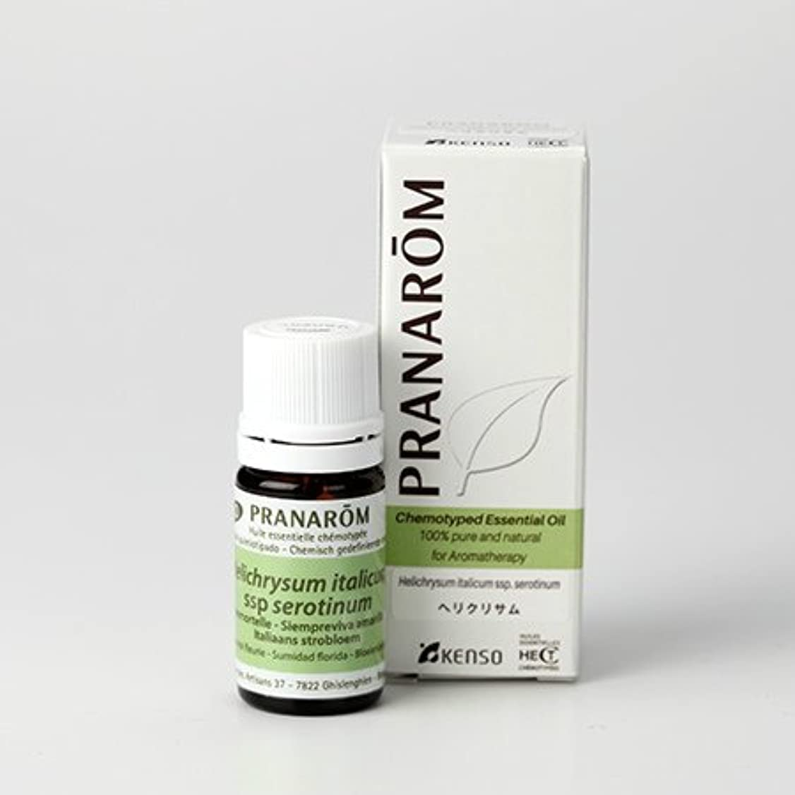 花火リード持つプラナロム ヘリクリサム 5ml (PRANAROM ケモタイプ精油)