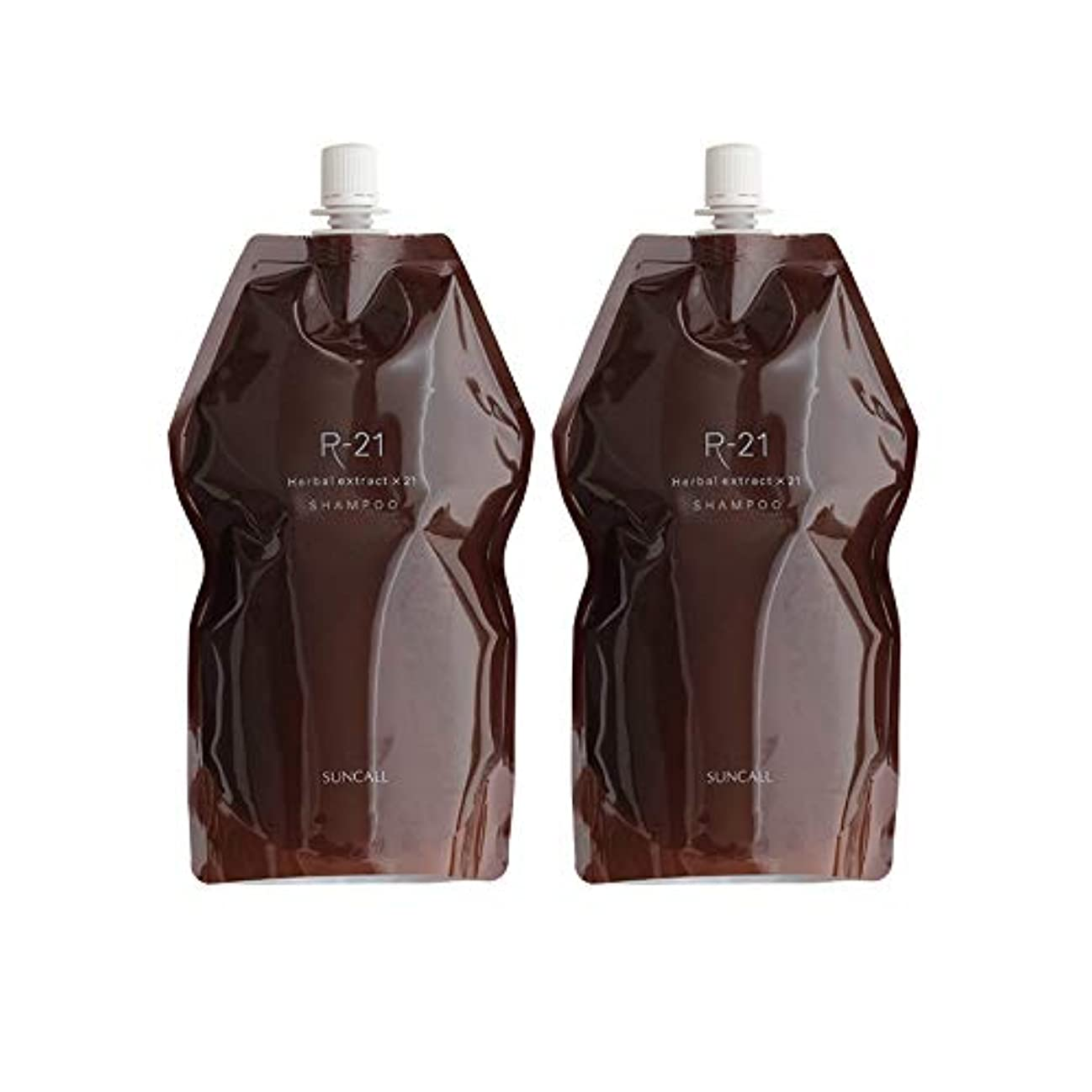 外部感情のワイン【X2個セット】 サンコール R-21 シャンプー 700ml 詰替え用 suncall