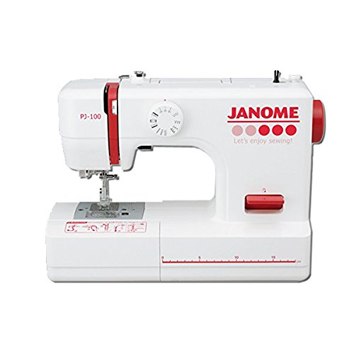 JANOME ジャノメ 電動ミシン 「両手が使えるフットコントローラータイプ」 PJ-100