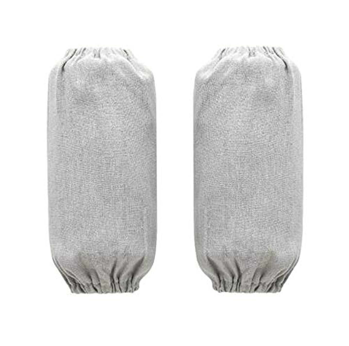 ナチュラ延ばす広まった綿麻 腕カバー 汚れ防止 袖カバー アームカバー 家事/キッチン/作業用