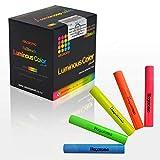 [羽衣]HAGOROMO フルタッチ蛍光チョーク5色セット(ピンク、黄、青、黄緑、オレンジ)5本入 (Hagoromo Fulltouch Luminous 5-color Mix Chalk 20pcs) [並行輸入品]