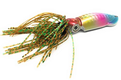 イカのフォルムと色彩をリアルに再現 した メタルジグ SLEEVE FISH スリーブ フィッシュ (T10, 15g) [ ルアー ショアジギング ブリ マダイ タチウオ サワラ インチク タイラバ ラバージグ 釣り ]
