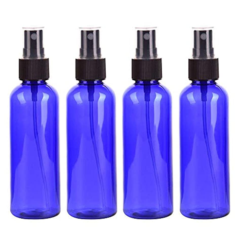 隔離するパートナーバルーンスプレーボトル 化粧品ボトル 霧吹き 漏れ防止 化 PETボトル プラスチック 100ML 4本