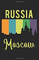 Russia Moscow: Calendar, weekly planner, diary, notebook, book 105 pages in softcover. One week on one double page. For all appointments, notes and tasks that you want to take down and not forget. For 52 weeks.