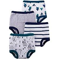 Lamaze Organic Baby Boys' Toddler Organic 4 Pack Training Pants