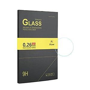 KuGi Huawei Fit ガラス フィルム 硬度9H 2.5Dラウンドエッジ加工 飛散防止処理 Huawei Fit 専用 強化ガラスフィルム 耐衝撃 超耐久 超薄タイプ 0.26mm 99% 高透過率 Huawei Fit 画面液晶 保護ガラスフィルム 貼り易い 液晶保護シート