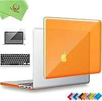 ueswill 3in1光沢クリスタルクリアSee Throughハードシェルケースとシリコンキーボードカバーfor MacBook Pro Retina 13インチ15インチ2012201320142015 MacBook Pro 13'' Retina A1502/A1425 UES05C13R3-09r