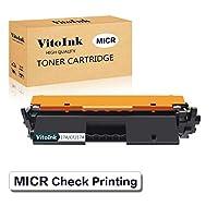 VitoInk 互換トナーカートリッジ CF217A MICRチェック柄 HP 17A CF217A用 ブラック 1パック