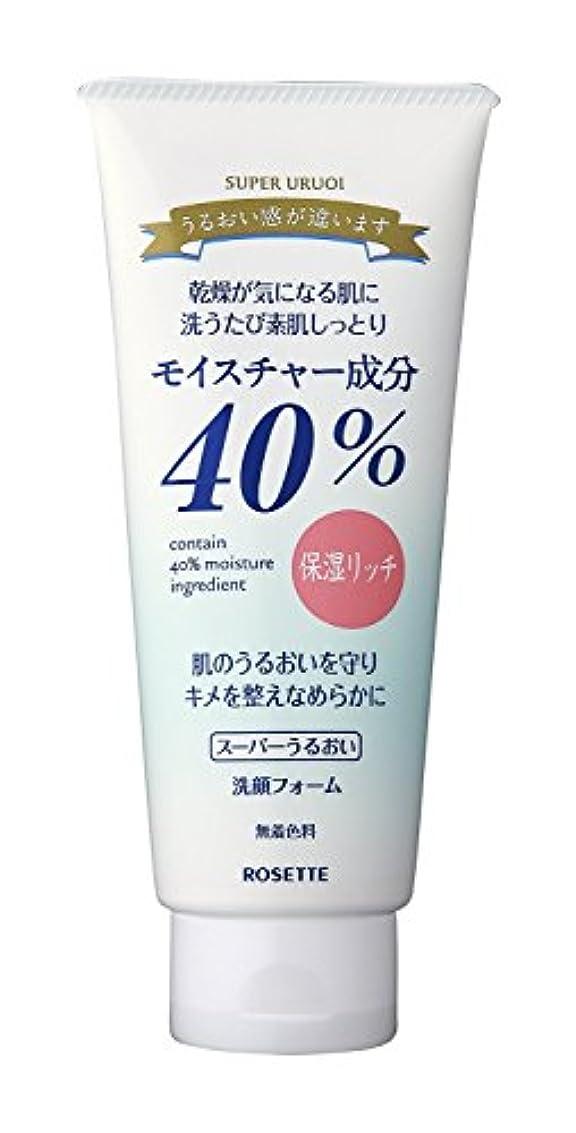 宣伝インフレーションリムロゼット 40%SPうるおい洗顔 増量タイプ