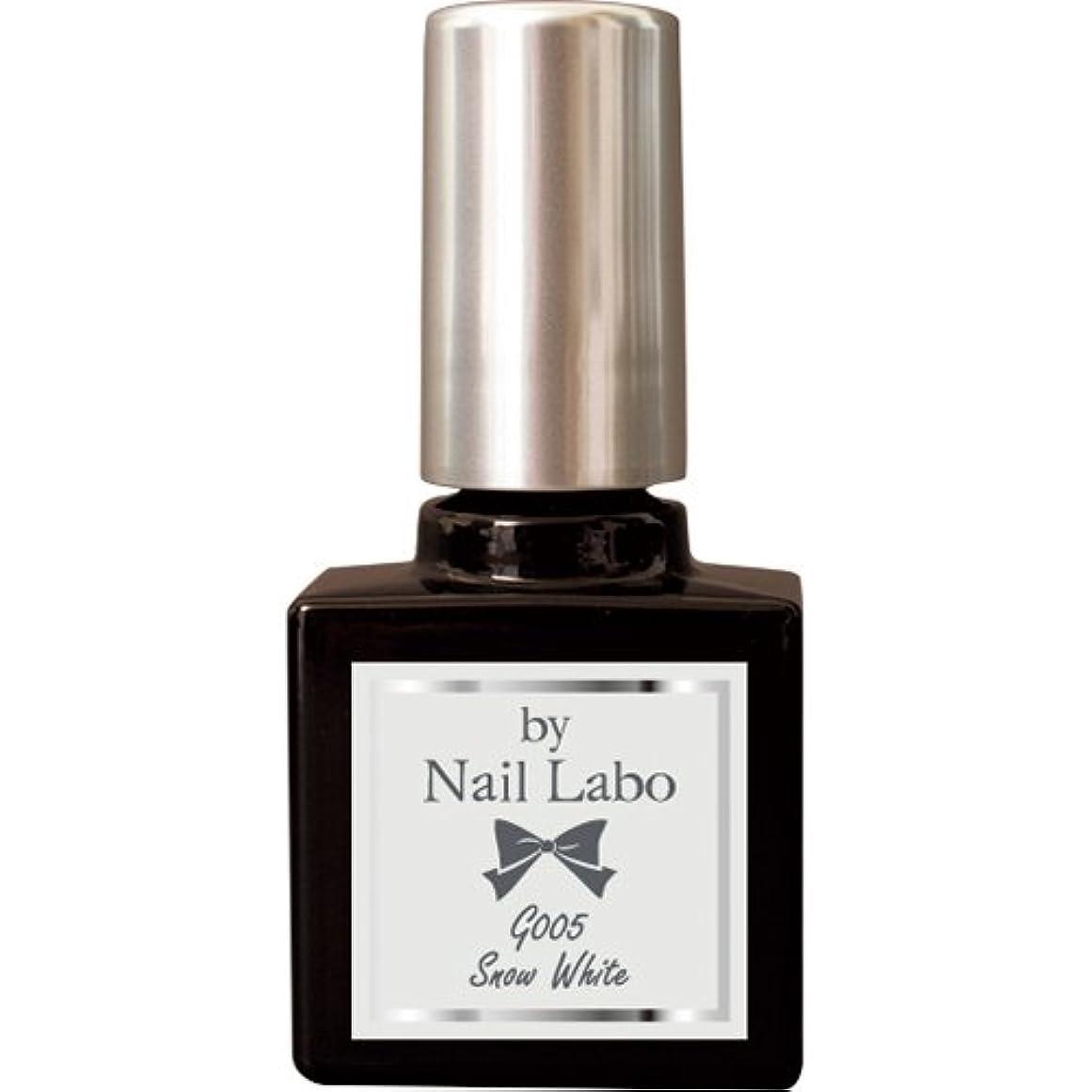 顧問祈るほこりby NailLabo ネイルラボ ジェルネイル カラージェル (G001~G013) (G005 スノーホワイト)