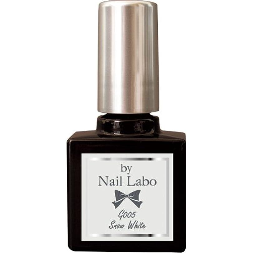 光の失望ホイールby NailLabo ネイルラボ ジェルネイル カラージェル (G001~G013) (G005 スノーホワイト)