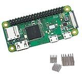 Raspberry Pi Zero WH GPIOピンヘッダー ハンダ付け済み Wi-Fi & Bluetooth&ヒートシンク付