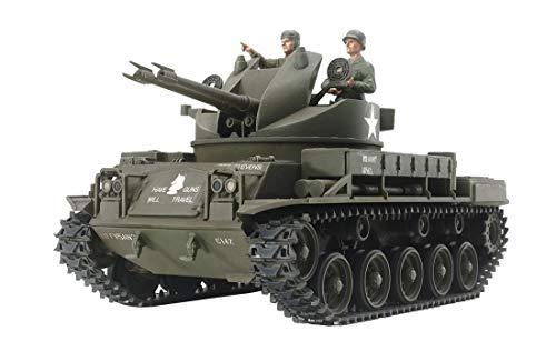 1/35 ミリタリーミニチュアシリーズ No.161 アメリカ対空自走砲 M42ダスター (人形3体付き) 35161