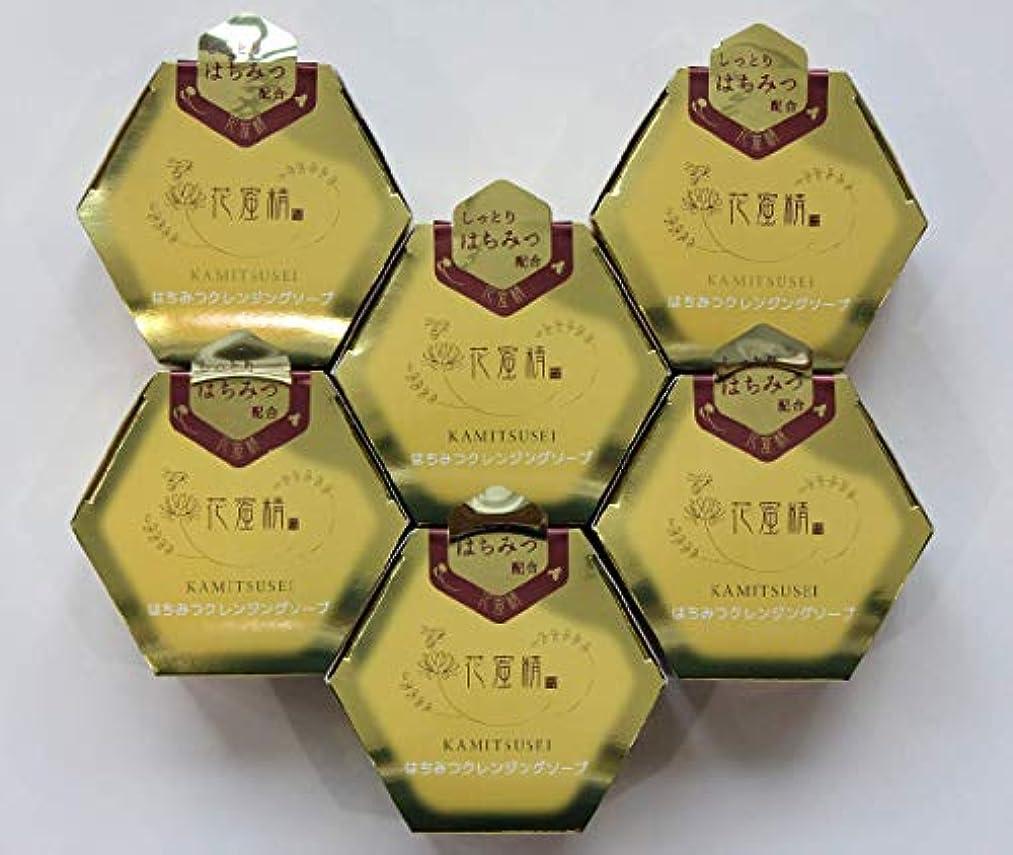 憲法バックグラウンド離れた花蜜精 はちみつ クレンジングソープ 85gX6個