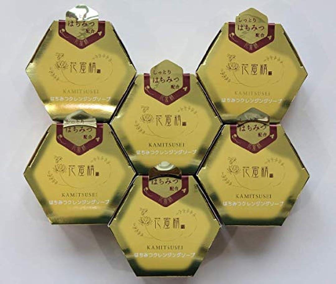 今日ロープオープナー花蜜精 はちみつ クレンジングソープ 85gX6個