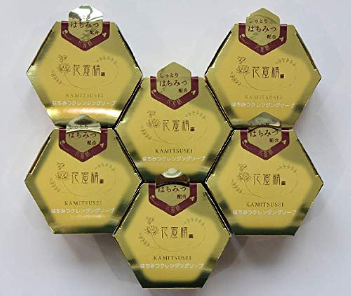 拮抗熟考する遷移花蜜精 はちみつ クレンジングソープ 85gX6個