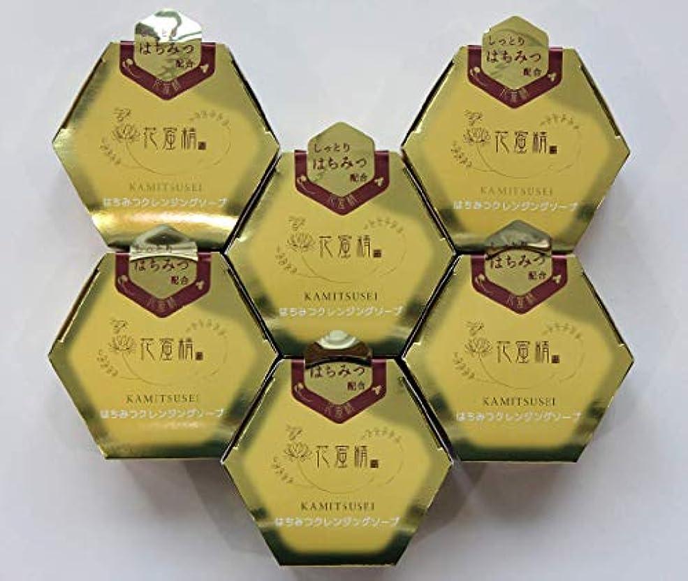横に代表団竜巻花蜜精 はちみつ クレンジングソープ 85gX6個