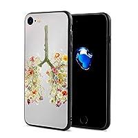 Morningligh IPhone7/8 ケース スマホケース 落下防止 カバー リング付き 全面保護 携帯カバー 携帯ケース 超薄 超軽量 衝撃 おしゃれ 男女兼用