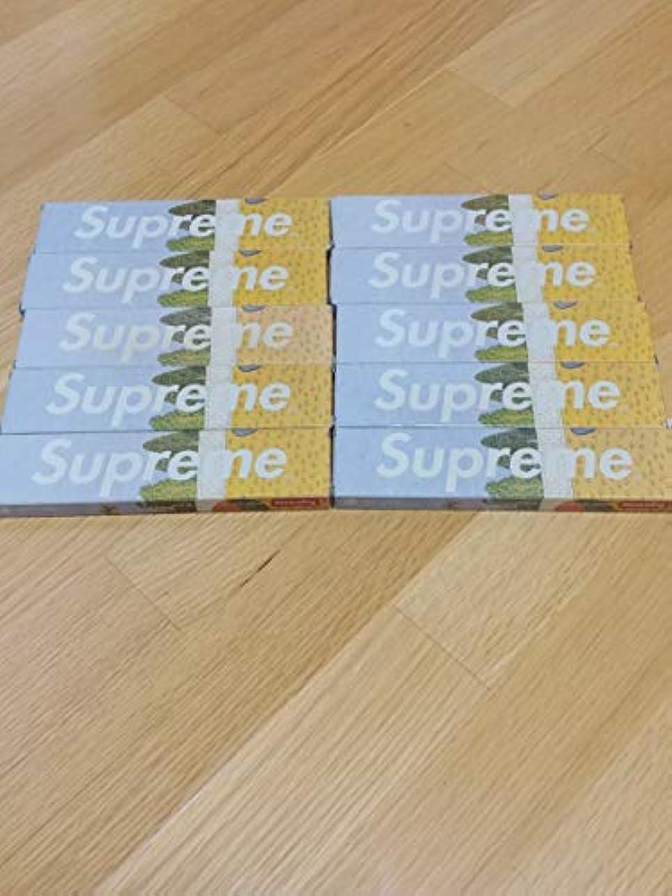 即席拡散する気質Supreme お香 10個セット