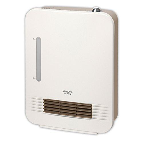 RoomClip商品情報 - 山善(YAMAZEN) セラミックヒーター(1220W/620W 2段階切替)(スチーム式加湿機能付) ホワイト HF-KB121(W)