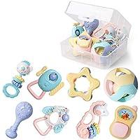赤ちゃんラトル、赤ちゃんおもちゃタンバリンラトルセンスラトル教育玩具赤ちゃんラトル新生児ラトルラトルセット赤ちゃん赤ちゃん ( Color : B )