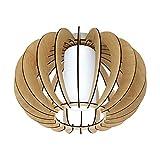 EGLO壁/天井ランプ、スチール、E27、60 W、サテンニッケル