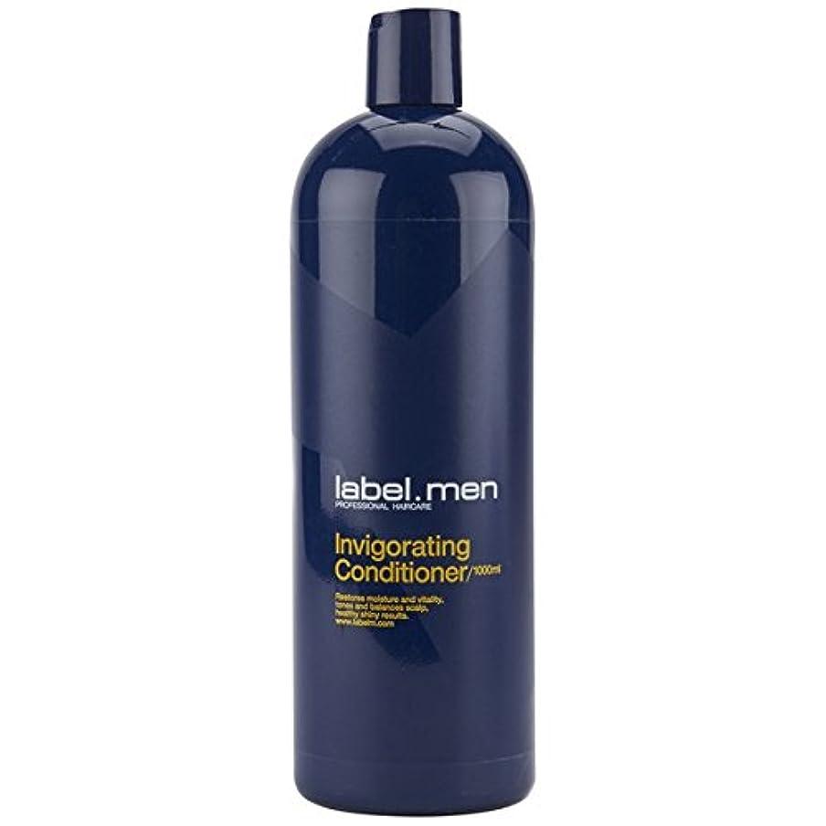 飼料レーダーテントレーベルエム メンズ インビゴレーティング コンディショナー (髪と頭皮に潤いを与えて元気で輝きのある仕上がりに) 1000ml