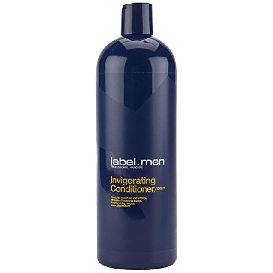 レーベルエム メンズ インビゴレーティング コンディショナー (髪と頭皮に潤いを与えて元気で輝きのある仕上がりに) 1000ml
