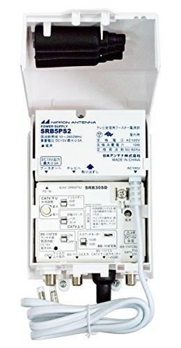 日本アンテナ 地デジ・CATV・BS/CS ブースター 30dB型 SRB30SD