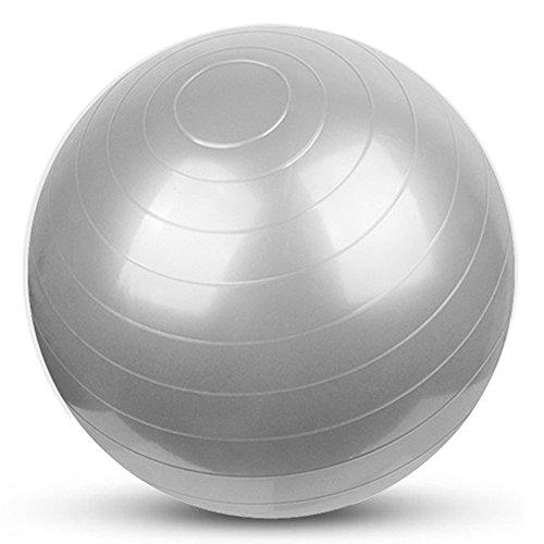 YUUWA バランスボール45/55/65/75cm ヨガボール アンチバースト仕様ポンプ付き! ダイエット エクササイ...