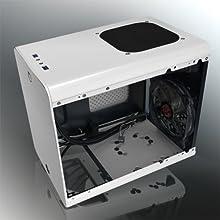 RAIJINTEK METIS PLUSシリーズ キューブ型アルミニウム製Mini-ITXケース 0R200061 (METIS PLUS WHITE)