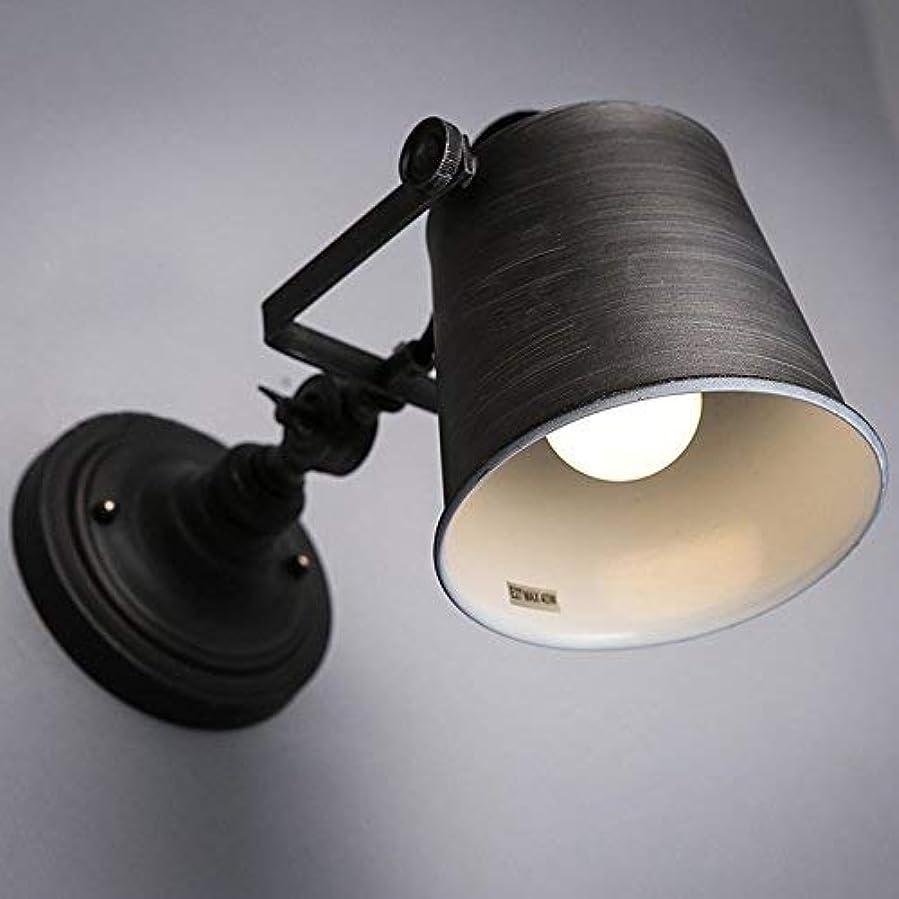 鉄細心のスコットランド人壁面ライト, ロフト工業用調節可能な壁ランプ壁取り付け用燭台E27は、リビングルームの寝室の照明浴室のための照明を導きました AI LI WEI