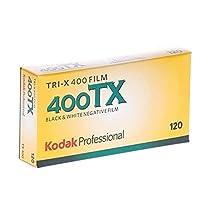 kodak 115 3659 Tri-X 400 プロフェッショナル 120 白黒フィルム 5ロール プロパック 3 Pack