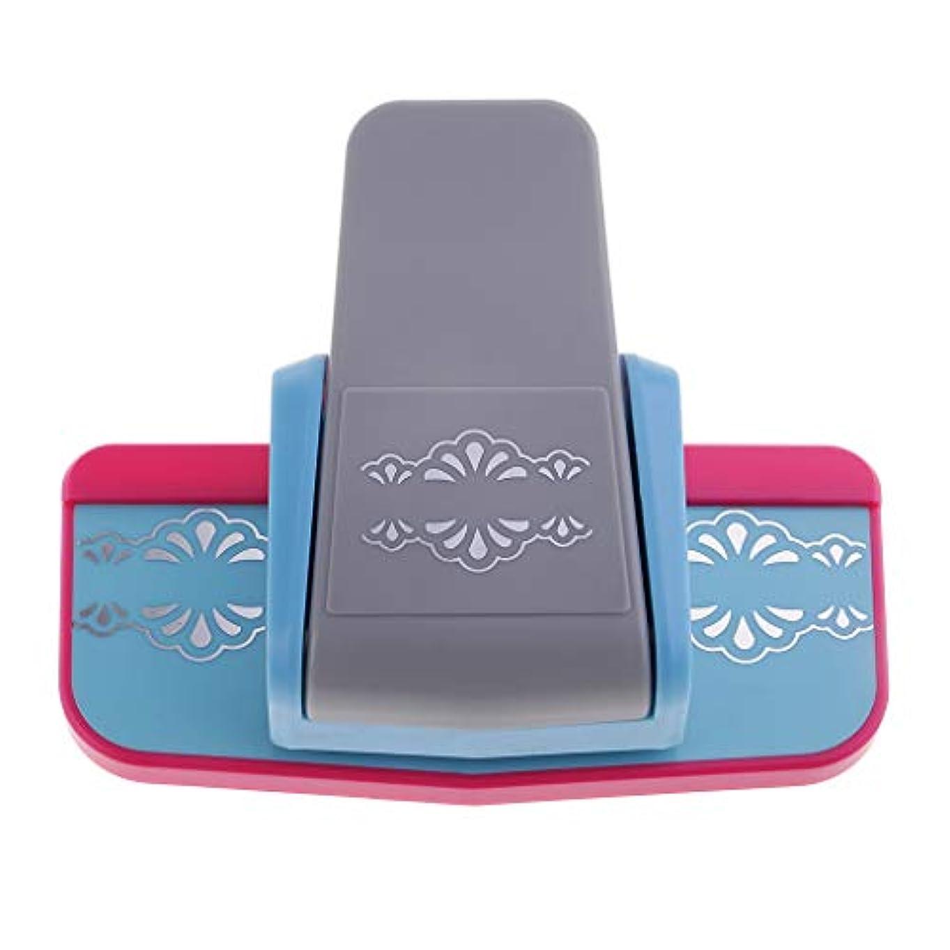 高めるシーケンス慰めFLAMEER カール事務器 クラフトパンチ 穴あけパンチ DIY手芸 多機能 使いやすい ABS メタル 2種選ぶ - ダブルサイドデイジー