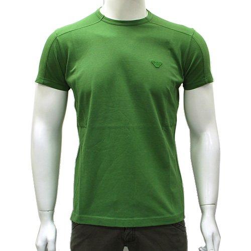 RNH60-60 半袖Tシャツ メンズ グリーン エンポリオ・アルマーニ