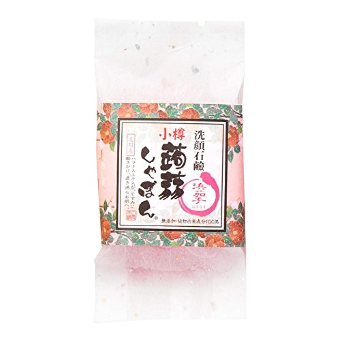 浸食温帯虹小樽蒟蒻しゃぼん小樽 浜茄子(はまなす)