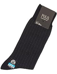 (グンゼ) GUNZE POLO(ポロ) 紳士ソックス 表糸綿100% 縦縞 PBH004