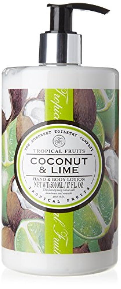 悪意のある松残忍なTropical Fruits Coconut & Lime Hand & Body Lotion 500ml
