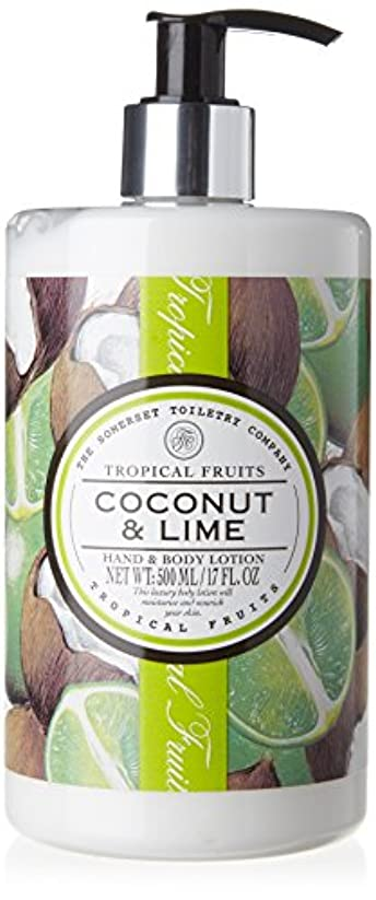 フィドルぶら下がる乱れTropical Fruits Coconut & Lime Hand & Body Lotion 500ml