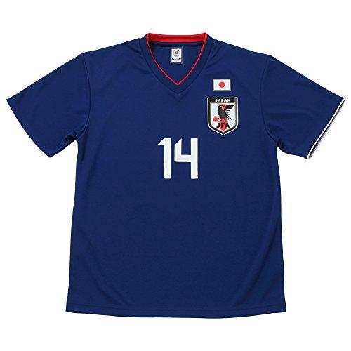 JFA サッカー日本代表 2018年 プレーヤーズTシャツ 乾貴士 No.14 O-059 XS