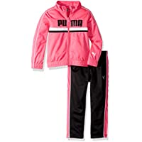 PUMA Girls 611855713-P673 Girls' Track Set Track Jacket - Pink