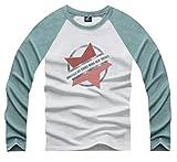 (UN ANANAS) カジュアル スター 星 デザイン Tシャツ メンズ カットソー トップス M L XL 2XL 大きい サイズ (2XL ミント)