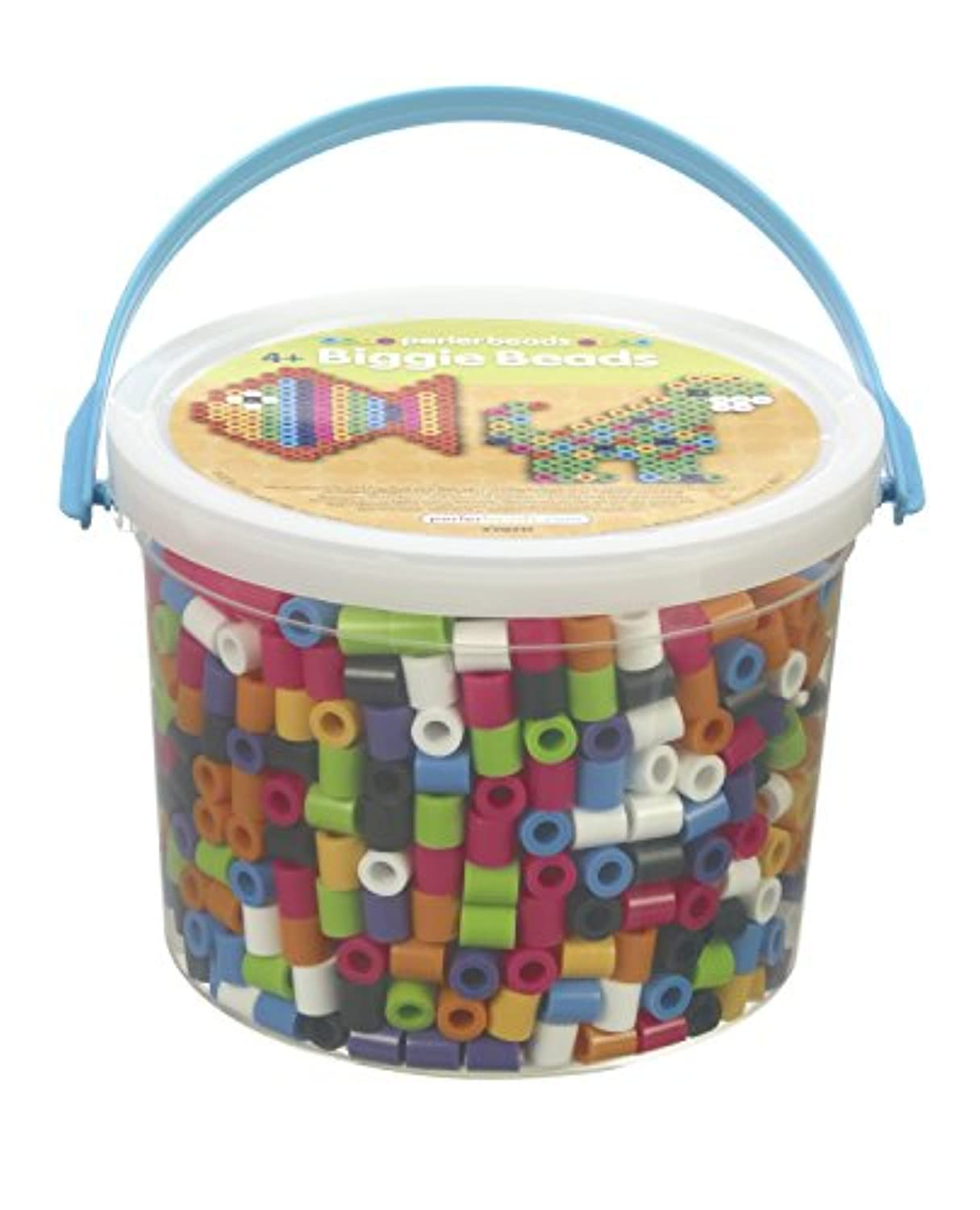 Perler BIGGIE Fun Fusion Fuse Bead Bucket-Assorted Colors [並行輸入品]