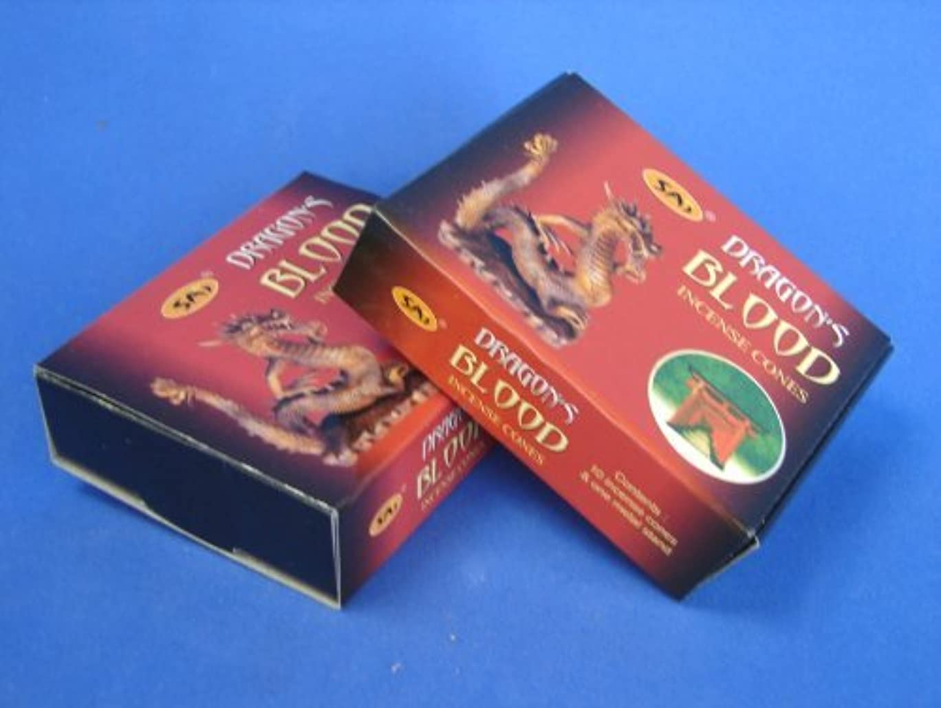 理容室スリル抑圧する2 Boxes of Dragon Blood Incense Cones