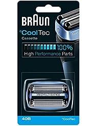 【並行輸入品】BRAUN 40B Foil and Cutter Replacement Cartridge for CoolTec shavers series