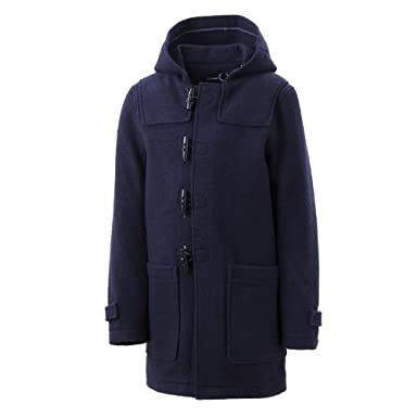 Raf Simons x Fred Perry Duffle Coat SJ3218: Navy