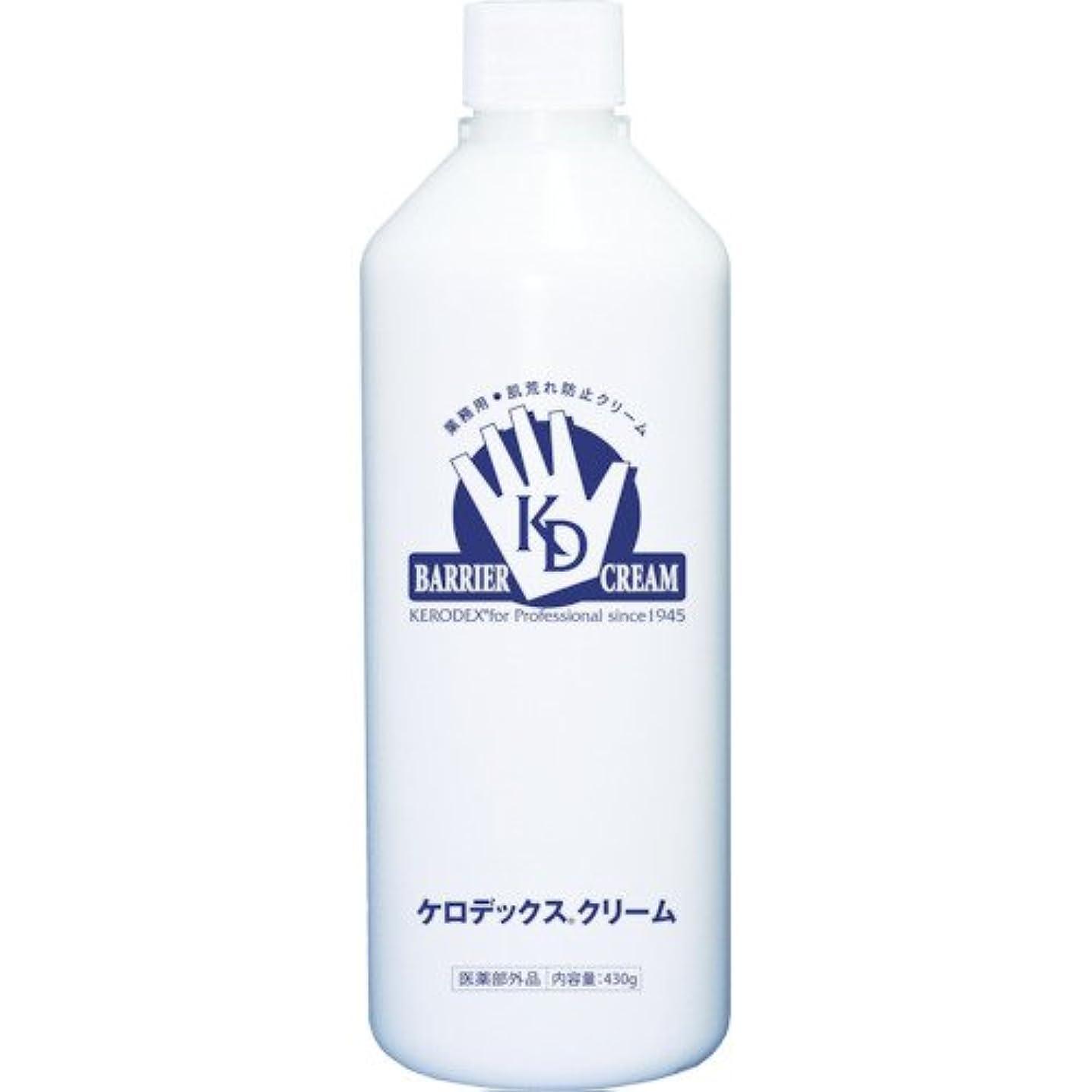 策定する中絶妥協ケロデックスクリーム ボトルタイプ 詰替用 430g
